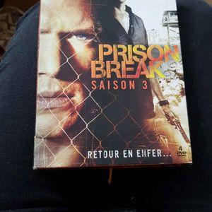 DVD prison break saison 3