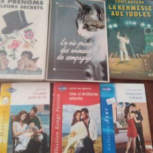 Lot de livres bon état