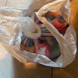 Sachet de bouchons plastique