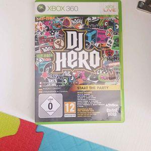 Jeu xbox 360 DJ hero