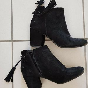 Bottines noires p36