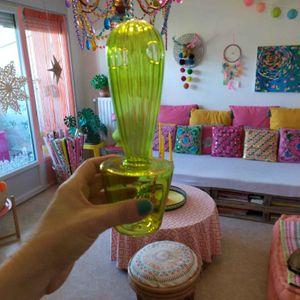 Soliflore cactus verre