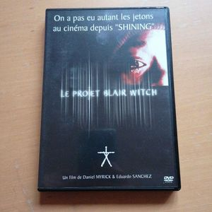 DVD le projet blair witch