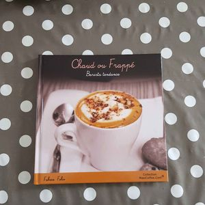 Livre recette café chaud ou frappé