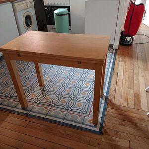 Petite table ikea à rallonge