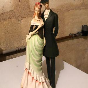 Couple céramique décoration