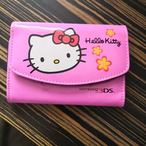 Protection hello kitty pour Nintendo 3ds