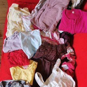 Vêtements bébé fille 3 à 18 mois
