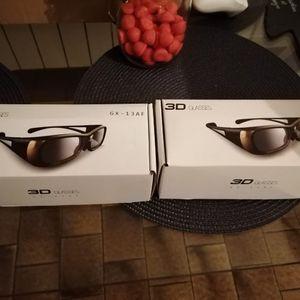 Paire de lunettes 3D