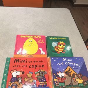 4 livres enfants