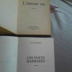 Des livres roman