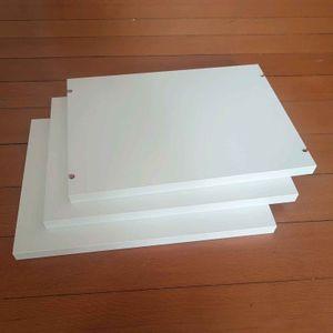 3 tablettes pour étagère Ikea Billy 40cm