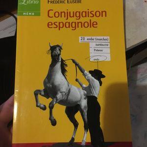 Petit livre conjugaison espagnole