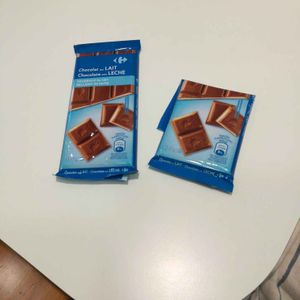 Chocolat au lait fourrage au lait