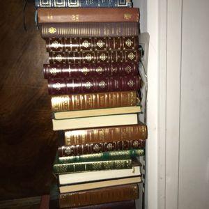 Livres anciens divers reliures cuir pour certains