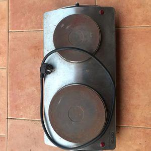 Double plaque électrique