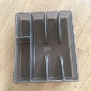 Rangement couverts en plastique IKEA