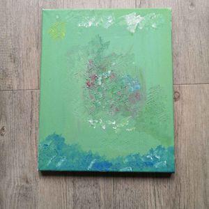 Cadre moyen peinture