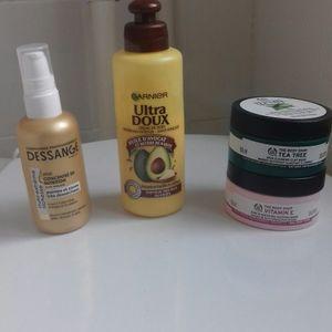 Lot de produits cosmétiques