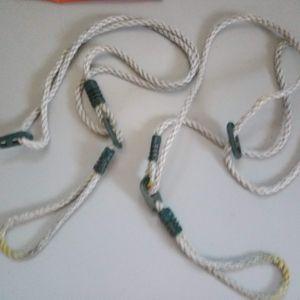 Deux cordes de balançoire