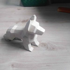 Loup origami