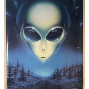 Poster extraterrestre
