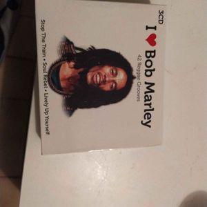 3 CD Bob Marley
