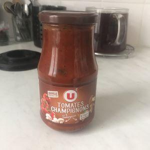 Sauce tomates champignons