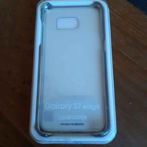 Coque transparente Samsung Galaxy S7 Edge