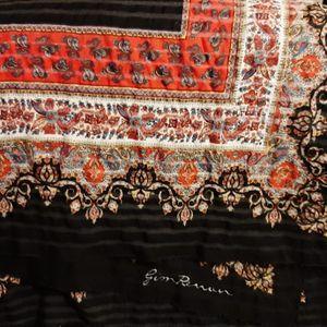 Grand foulard carré
