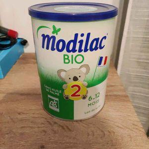 Boite de lait infantile MODILAC BIO 6-12 mois NEUVE