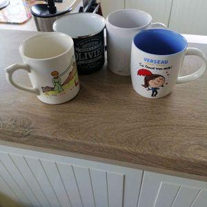 4x Mug