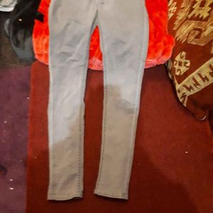 Jeans gris taille 36