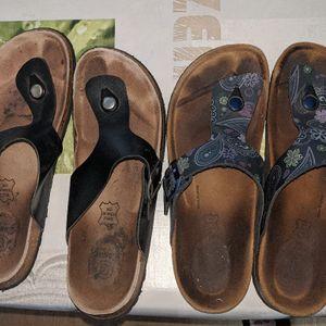 Sandales nu-pieds