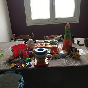 Lot de jouets à laver