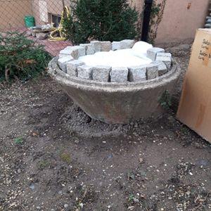 Bac à fleur en beton