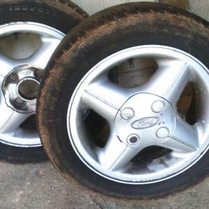 """2 roues ford en alu 14"""""""