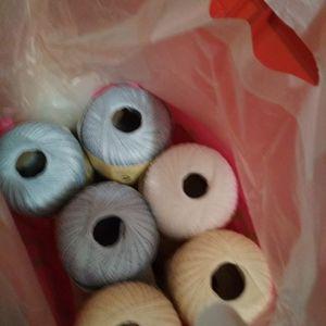 Coton mercurisé à crocheter