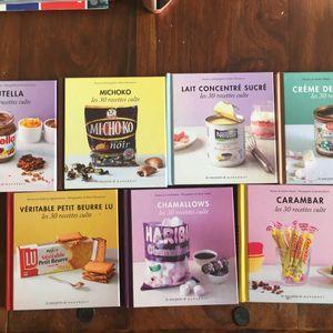 Livres de cuisine - Edition Marabout