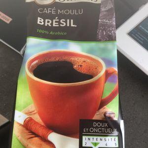 Café moulu du Brésil