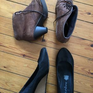 Lot chaussures 37