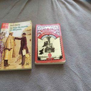 Livres Jules Verne