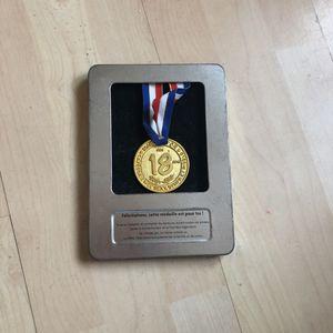 Médaille 18 ans