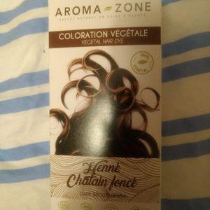 Coloration naturelle Aroma-Zone reste 3 sachets jamais ouvets