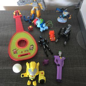Lot petits jouets