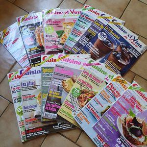 Magazines cuisine et vins de france
