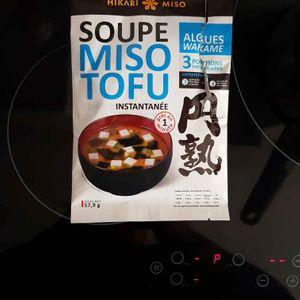 Soupe Miso Tofu