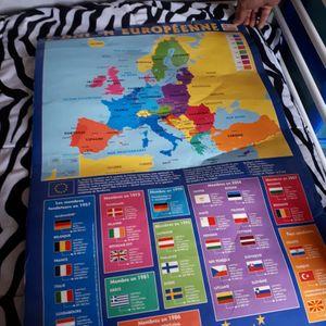 Carte union européenne