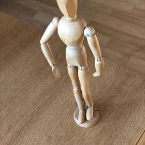 Figurine articulée pour dessin