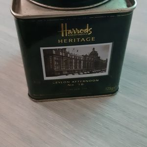 Boîte à thé en métal